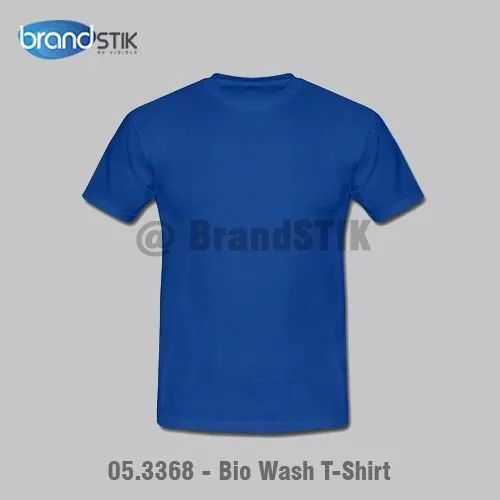 Bio Wash Round Neck T-Shirt