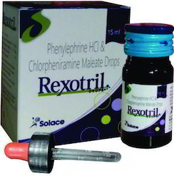 Chlorpheniramine Maleate 2mg, Phenylephrine Hcl 5mg Drops