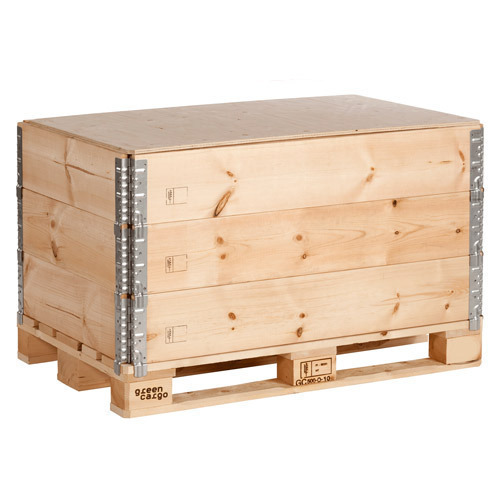Wooden Pallet Box, For Hospital And Furniture, Rs 670 ...