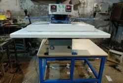 NIC Semi-Automatic Pneumatic Single Bed Fusing/Sublimation Printing Machine, For Industrial