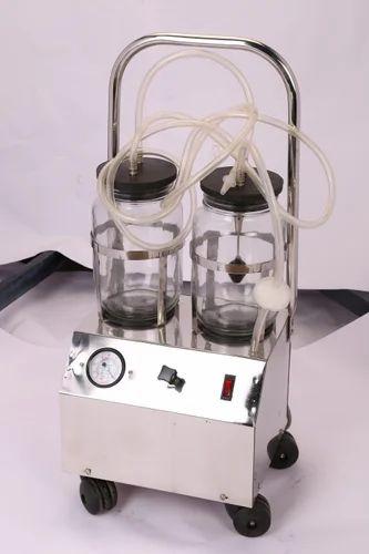 Suction Machine Double Bottle Portable Suction Machine