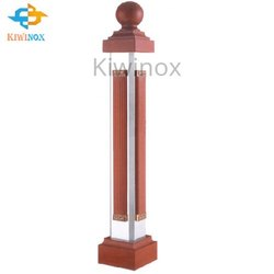 SS Wooden Baluster Post