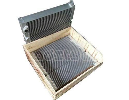 Air Cooled Aluminum Air Cooler Screw Compressors