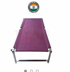 Folding Steel Bed, For Common, Single