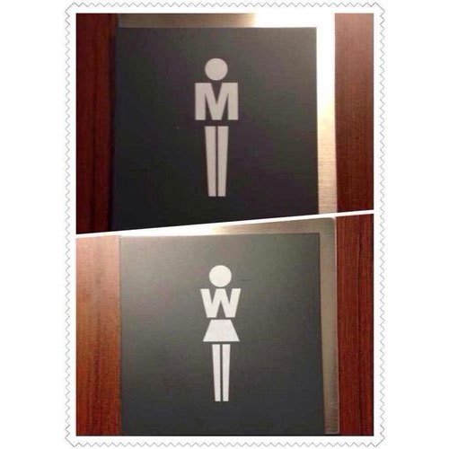 This is an image of Printable Restroom Sign intended for graduation