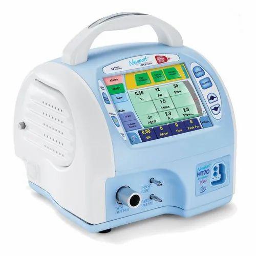Newport HT70 Plus Portable Ventilator, Medtronic, Medtronic Medical  Ventilator, Newport Ventilator, मेडट्रोनिक मेडिकल वेंटीलेटर - BAMC Medical  Limited, Panipat | ID: 22287291030