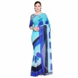 Casual Wear Printed AHS0240 Royal Bridal Georgette Silk Saree
