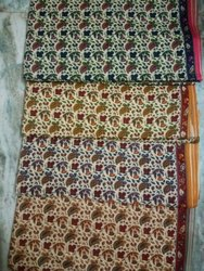 Bagru Print Cotton Kalamkari Fabric