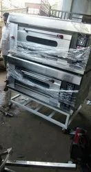2 Deck 4 Tray Oven