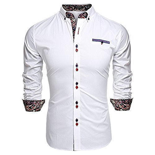 sophisticated technologies fast delivery exquisite design Mens White Designer Shirt