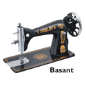 Pooja Basant Manual Black Sewing Machine