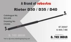 GAS SPRING FOR RIETER CARD