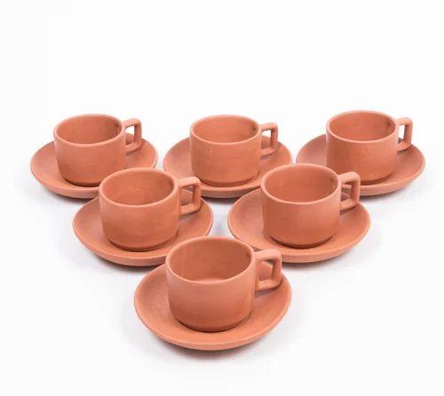 Terracotta Cup Plate Set  sc 1 st  IndiaMART & Terracotta Cup Plate Set at Rs 220 /set   Tea Cup Set   ID: 16758156412