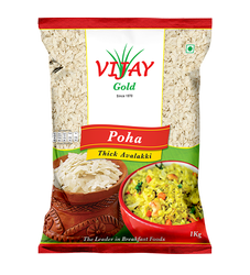 White Vijay Poha Thick Avalakki