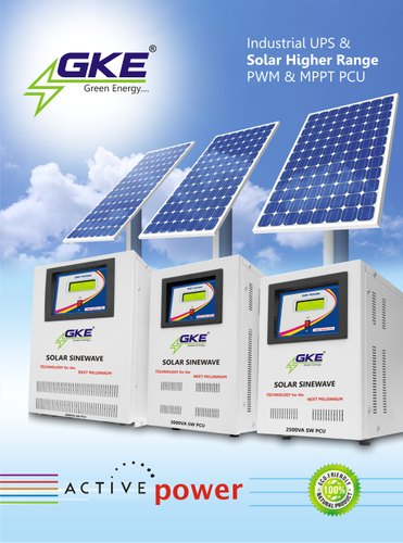 Solar Higher Range  PWM & MPPT Inverter PCU