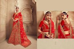 Royal Bride Bridal Semi-Stitched Heavy Lehenga Choli