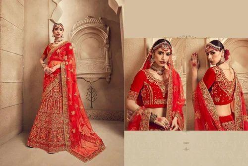 c7f76e52f20c5 Royal Bride Bridal Semi-Stitched Heavy Lehenga Choli
