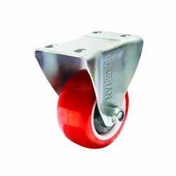 Polyurethane FIX Wheel Caster