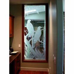 Designed Glass Window
