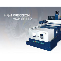 High Speed Fixed Double Columns Machining Center