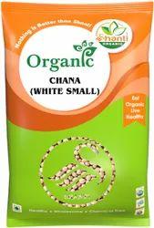 Shanti Indian Organic Chana (White Small), Packaging Size: 1 Kg