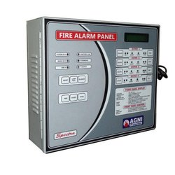 M S Body Grey Agni Spectra Fire Alarm Control Panel