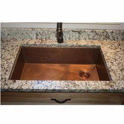 Rectangular Kitchen Copper Sink Copper Bathroom Sinks Copper Kitchen Sink Copper Kitchen Wash Basin क पर स क M S R K International Moradabad Id 15481253497
