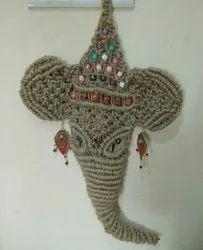 Hand Crafted wall hanging ganesha