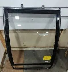 Chanson Iron E-Rickshaw Chromed Front Glass