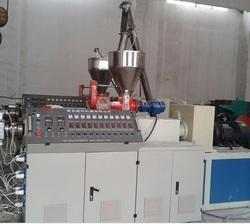 PVC Twin Pipe Production Line Machine