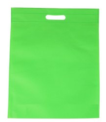 Non Woven Bag - D Cut - Green