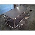 Ss Canteen Dining Table, Shape: Rectangular