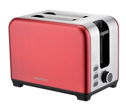 Stainless Steel Red Amber 2 Slot Toaster Opal, For Home, Toasting