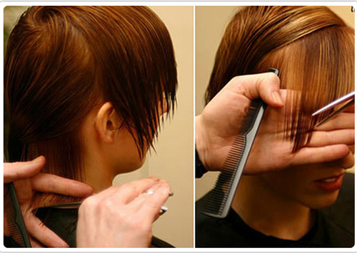Hair Cutting Service In Bengaluru Bangalore By Yash Beauty And