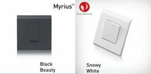 Legrand Myrius White Switches