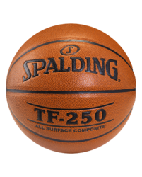 Composite Cover Material Spalding Basketball TF 250, Size: 7, 29.5 Inch