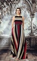 Designer Traceable Lycra with Digital Print Gowns