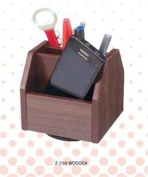 Pen Stand Wooden Fancy