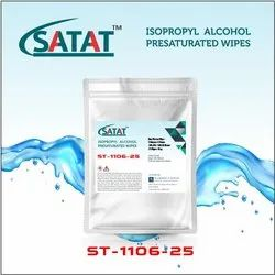 Isopropyl Alcohol (IPA) Presaturated Wipes