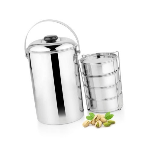 2251b7943e7 Stainless Steel Lunch Box at Rs 100  piece