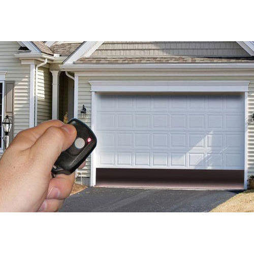 White Automatic Garage Door, Rs 120000 /piece, Anshul