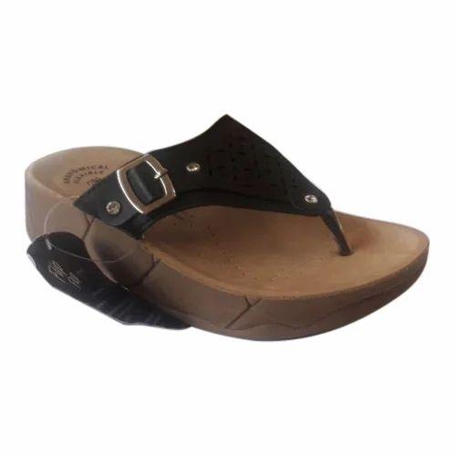 37d6347d7 Aerowalk Black Ladies Stylish Slippers, Rs 699 /pair, Frontline ...