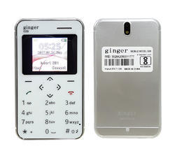 Ginger G9 Credit Card Shape Mobile Phone With Camera