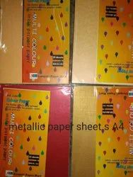 Metallic A4 Colur Sheet