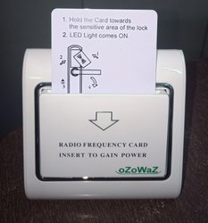 PVC Rectangular Hotel Key Card