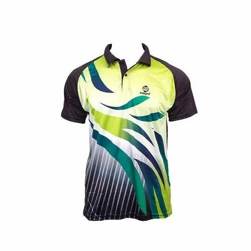 5721143da Men Badminton Maspro Sublimated Designer T Shirt, Rs 592 /piece | ID ...