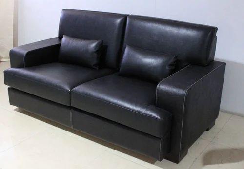 Black Marshall Sofa Set 2 Seater