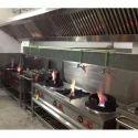 Chinese Kitchen Cooking Range