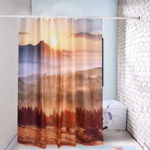 Printed 3d Digital Warm Sunshine Curtain Rs 5000 Piece Factory 2