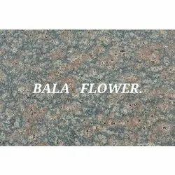 Flamed Bala Flower Granite, for Flooring, Thickness: 20-25 mm